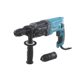 Перфоратор Makita HR2470FT SDS+,780Вт,3реж,2.7Дж,0-4500у\м,2.6кг,+патрон св.