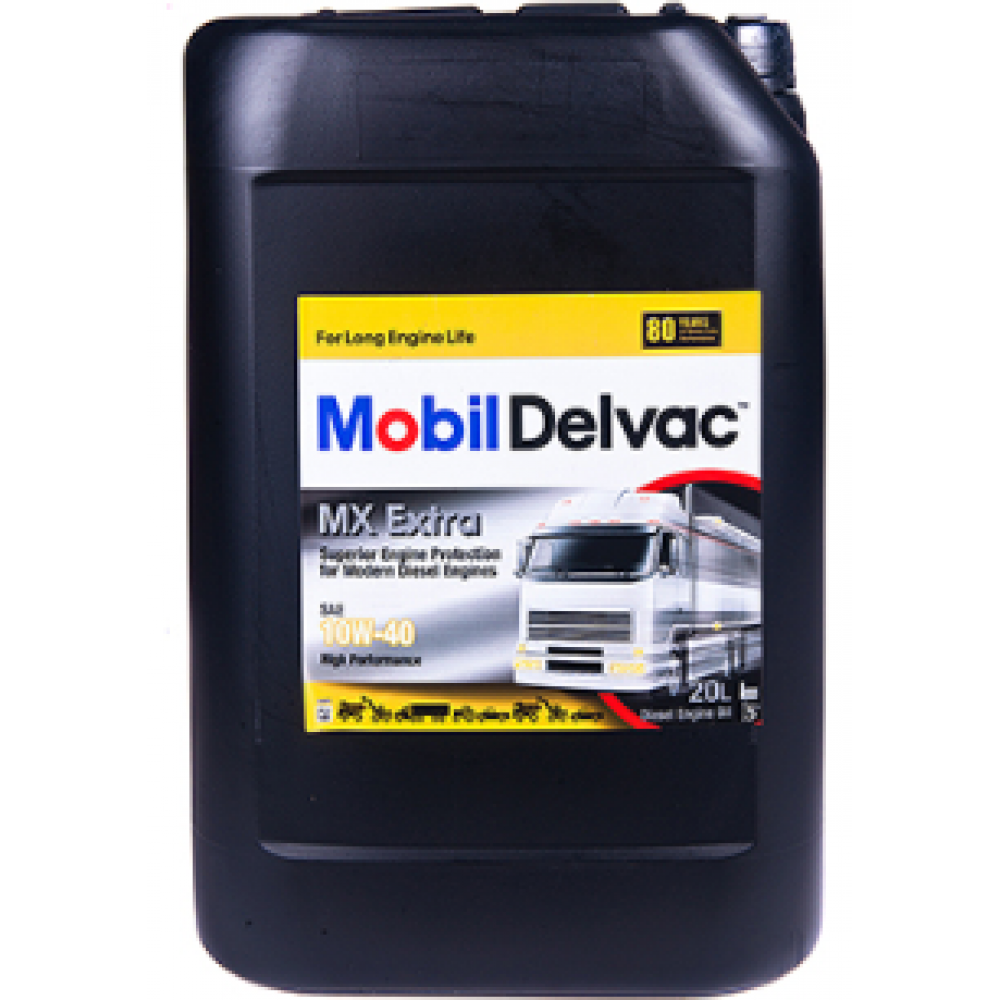 Масло Mobil Delvac MX EXTRA 10W40 мот.диз.п/с. (4л)